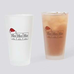 Ho Ho Ho [Chemical Elements] Drinking Glass